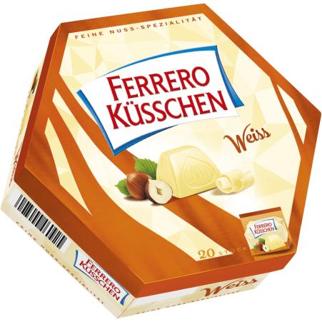 Ferrero Küsschen Küsschen white 20er-Packung