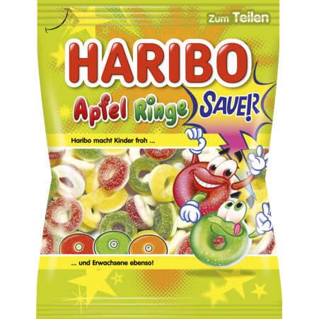 HARIBO Apfelringe