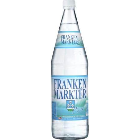Frankenmarkter Mineral Classic Tray 12x 1,0 Liter Mehrweg-Flasche