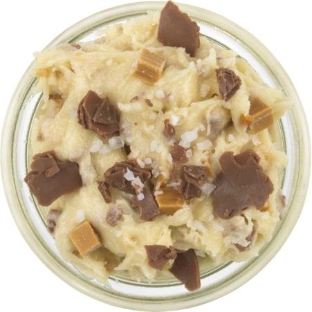 Spooning Cookie Dough Caramel'n'Salt