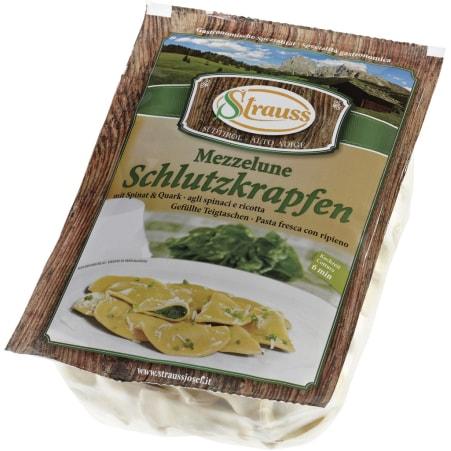 Strauss Schlutzkrapfen Spinat