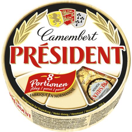 President Camembert 45%