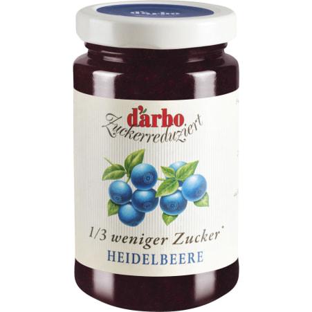 Darbo Zuckerreduziert Heidelbeere