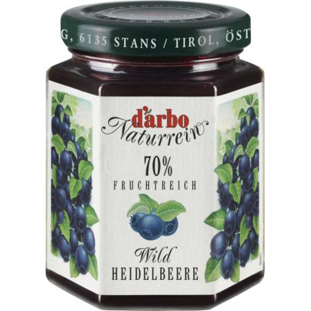 Darbo Naturrein Fruchtreich Wild-Heidelbeere