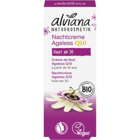 alviana Anti-Aging Q10 Nachtcreme