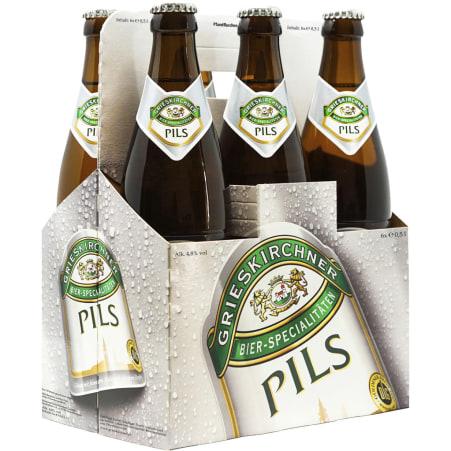 GRIESKIRCHNER Pils Tray 6x 0,5 Liter Mehrweg-Flasche