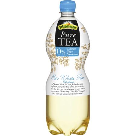 Pfanner Bio Pure Tea Weißer Tee Holunder 1,0 Liter