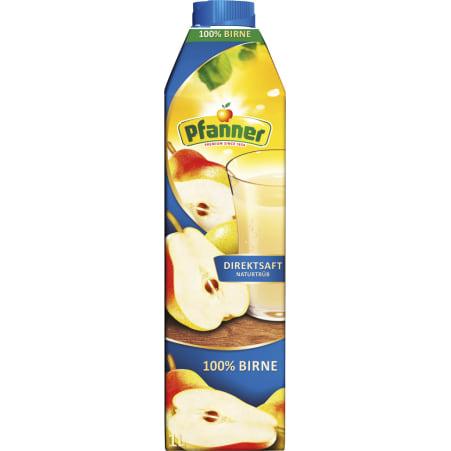 Pfanner Birnendirektsaft 100% 1,0 Liter