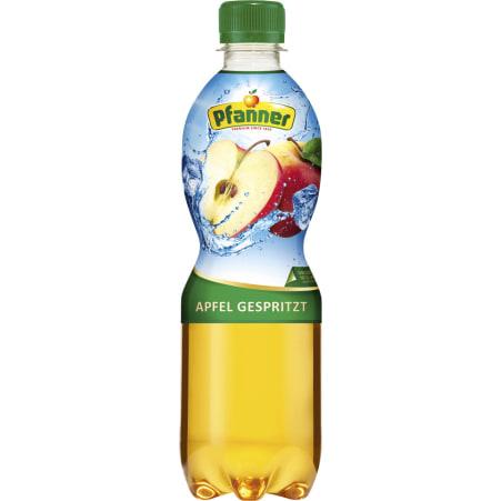 Pfanner Apfel gespritzt 0,5 Liter