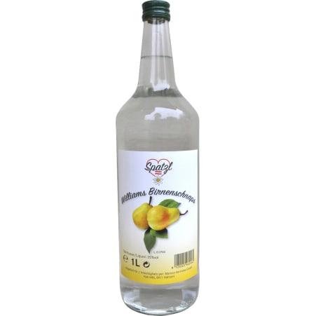 Spatzl Spatzl Williams Birnenschnaps 35% 1,0 Liter