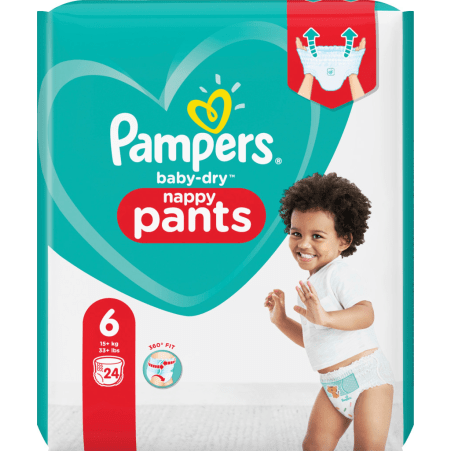 Pampers baby-dry Pants Gr. 6