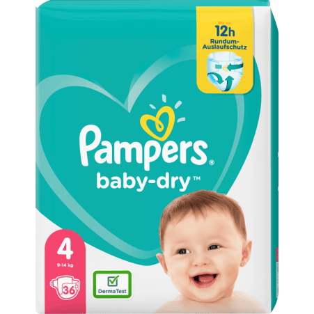 Pampers baby-dry Gr. 4
