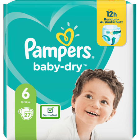 Pampers Baby Dry Extra Large 13-18kg