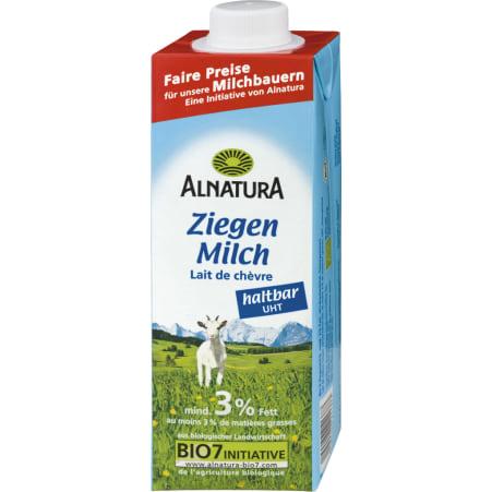 Alnatura Bio Haltbare Ziegenmilch 3%