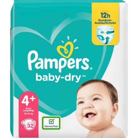 Pampers baby-dry Gr. 4+