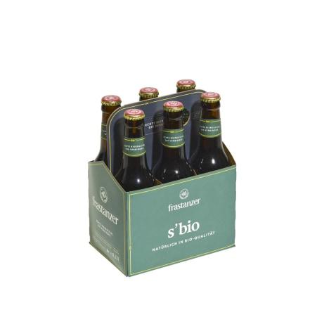 frastanzer s'Bio Tray 6x 0,33 Liter Mehrweg-Flasche