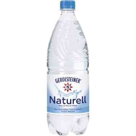 GEROLSTEINER Mineralwasser natürlich 1,0 Liter