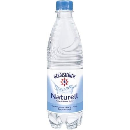 GEROLSTEINER Mineralwasser naturell 0,5 Liter