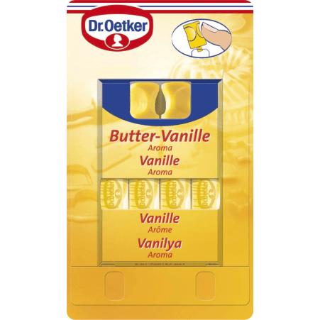 Dr. Oetker Backaroma Butter-Vanille 4er-Packung