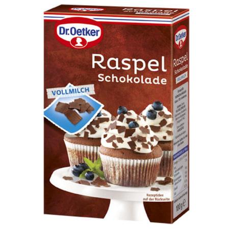 Dr. Oetker Raspelschokolade Vollmilch