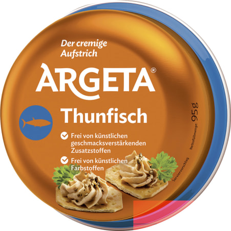 Argeta Thunfischaufstrich