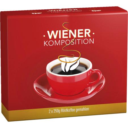Wiener Komposition  Mahlkaffee 2x 250 gr