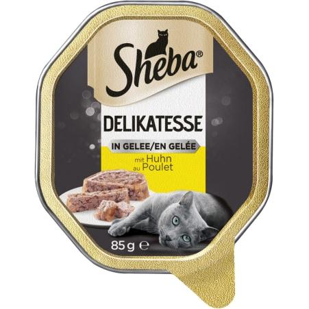 SHEBA Genuss in Gelee Geschnetzeltes Huhn