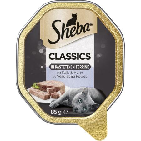 SHEBA Classics mit Kalb und Huhn