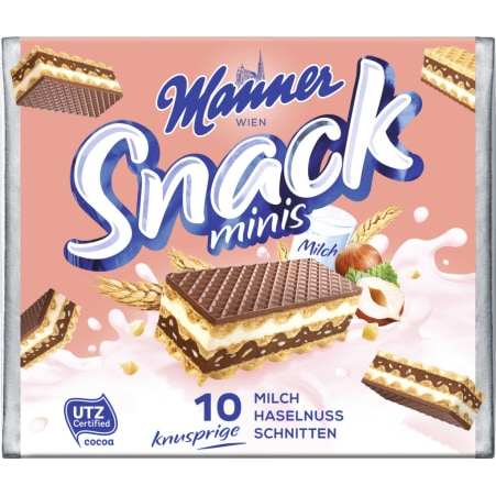 Manner Snack Minis 3er-Packung