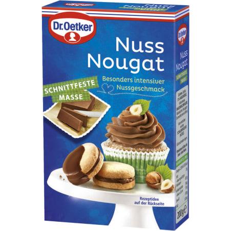 Dr. Oetker Nuss-Nougat Masse