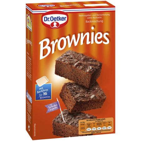 Dr. Oetker Backmischung Brownies