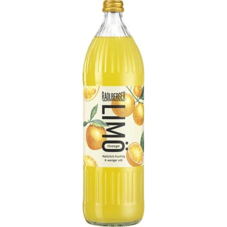 Radlberger LIMÖ Orange 6er-Tray Mehrwegflasche