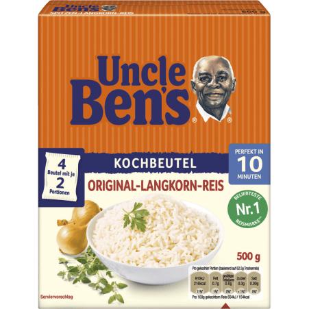 UNCLE BEN'S Spitzen-Landkorn-Reis 10 Minuten 4er-Packung