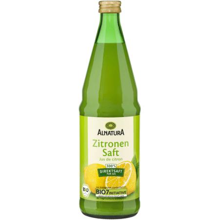 Alnatura Bio Zitronensaft 0,75 Liter
