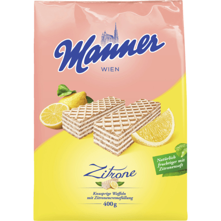 Manner Zitronenschnitten