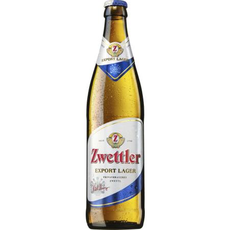 Zwettler Export Lager Kiste 20x 0,5 Liter Mehrweg-Flasche
