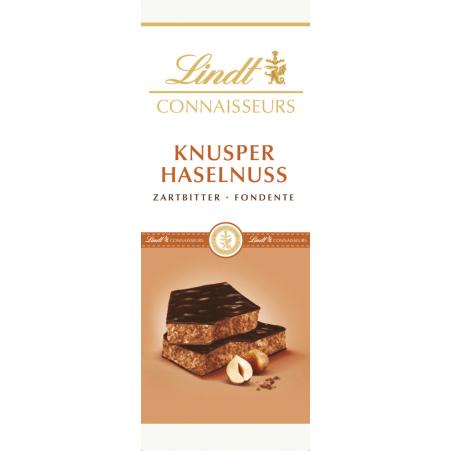 Lindt&Sprüngli Schokolade Connaisseurs Knusper Haselnuss