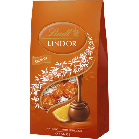 Lindt&Sprüngli Lindorkugeln Orange
