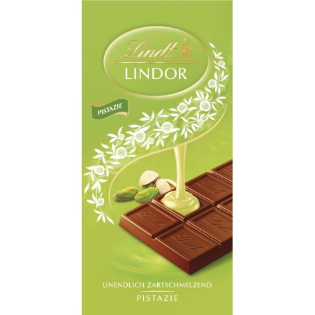 Lindt&Sprüngli Schokolade Lindor Pistazie