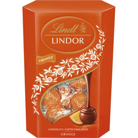 Lindt&Sprüngli Lindor Kugeln Orange