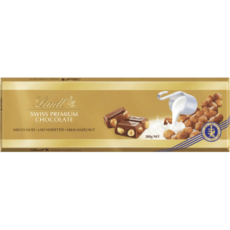 Lindt&Sprüngli Schokolade Vollmilch-Traube-Nuss