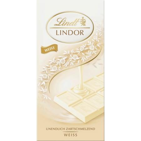 Lindt&Sprüngli Schokolade Lindor Weiß