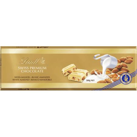 Lindt&Sprüngli Goldtafel Weiß Mandel 300 gr