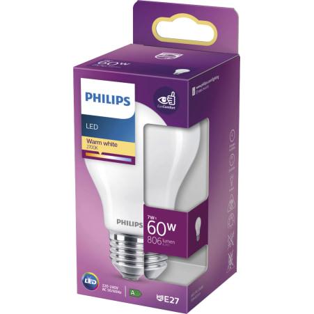 LEDClassic 60W E27 WW 806lm matt LED Classic warm weiß matt 60 Watt E2