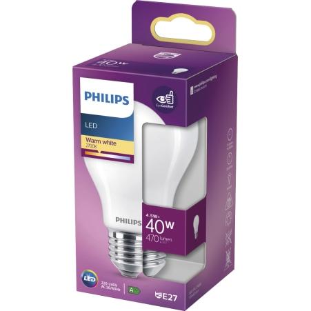 Philips LED Classic warm weiß matt 40 Watt E27