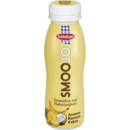 Schärdinger SmooJo Ananas-Banane-Kokos