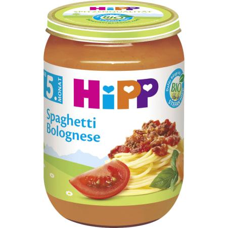 HiPP Spaghetti Bolognese 4. Monat