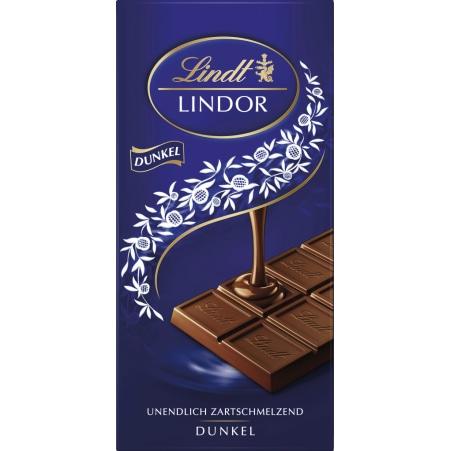 Lindt&Sprüngli Schokolade Lindor Dunkel