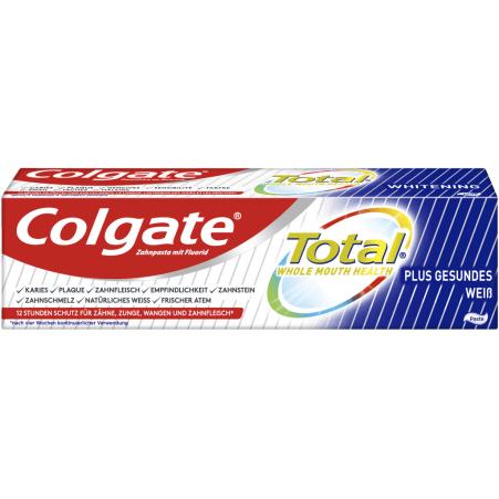 Colgate Zahnpasta Total Plus gesundes Weiß