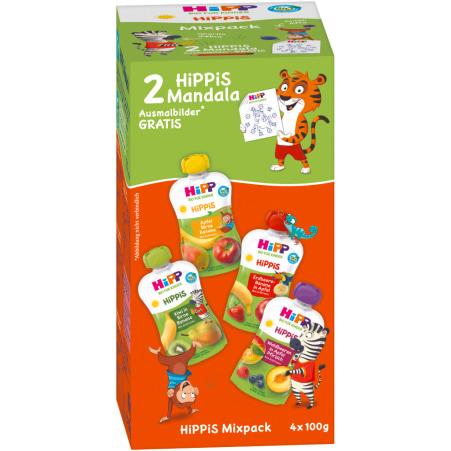 HiPP Hippis Mix 4er-Packung